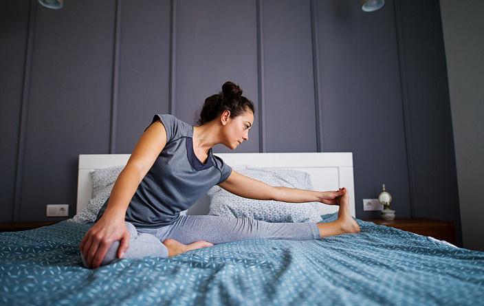 Joga przed snem dla zdrowego snu