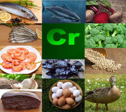 Chrom: która żywność zawiera najwięcej