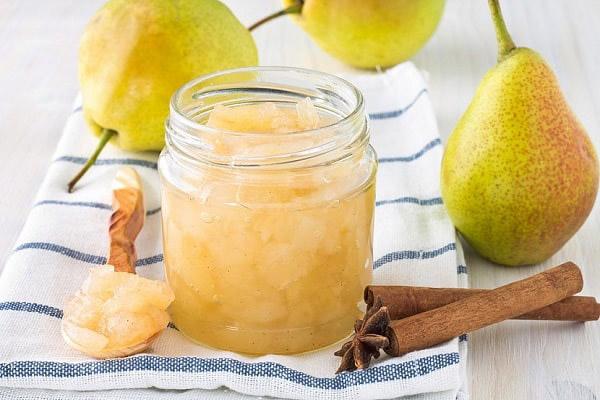Dżem gruszkowy z cynamonem i orzechami