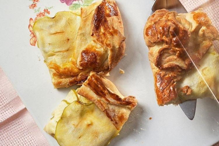 Ciasto z twarogiem i jabłkami - Co ugotować z twarogu