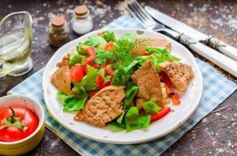 Dietetyczna Sałatka Z Kurczakiem i Papryką - Przepisy