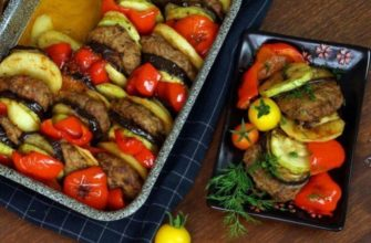 Jak gotować ratatouille z pasztecikami wołowymi - przepisy kulinarne