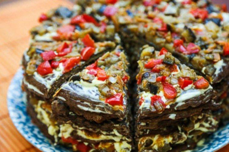 Ciasto z bakłażana - przepisy kulinarne recipe