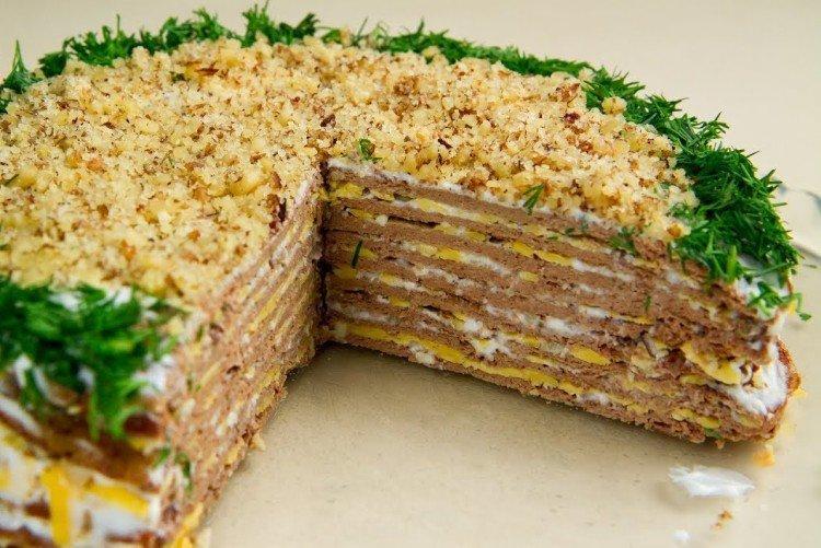 Ciasto wątróbkowe z orzechami włoskimi - przepisy kulinarne