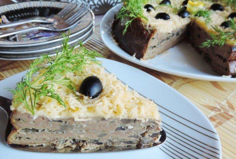 Ciasto wątrobowe w powolnej kuchence - przepisy kulinarne