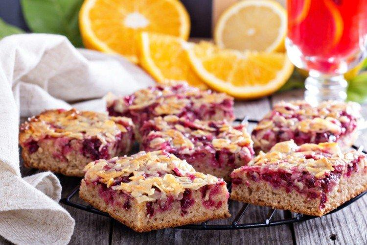 Ciasto owsiane z wiśniami - przepisy kulinarne