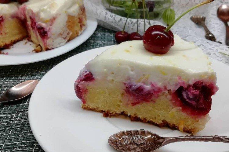 Ciasto wiśniowe bez jajek - przepisy kulinarne