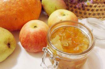 konfitura dyniowa z jabłkami