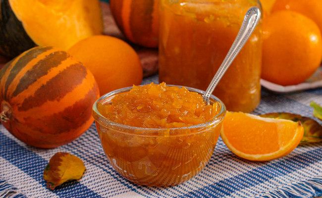 Konfitura dyniowa z jabłkami i pomarańczami