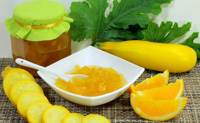 Dżem z cukinii w powolnej kuchence - poliż palce cytryną i pomarańczą