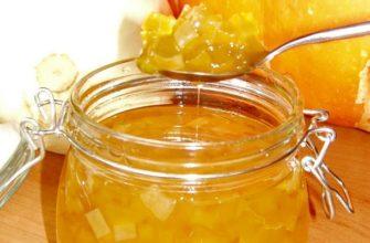 konfitura z cukinii z cytryną