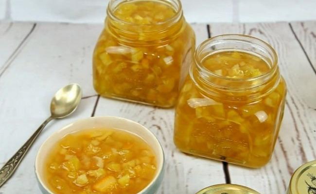 Jak zrobić dżem z squasha - klasyczny prosty przepis z cytryną i pomarańczą